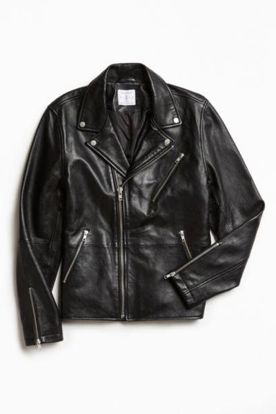 UO Napoli Leather Moto Jacket