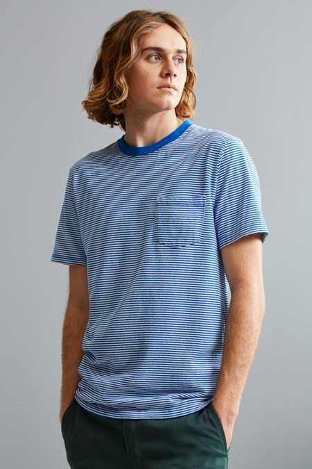 UO Standard-Fit Feeder Stripe Tee