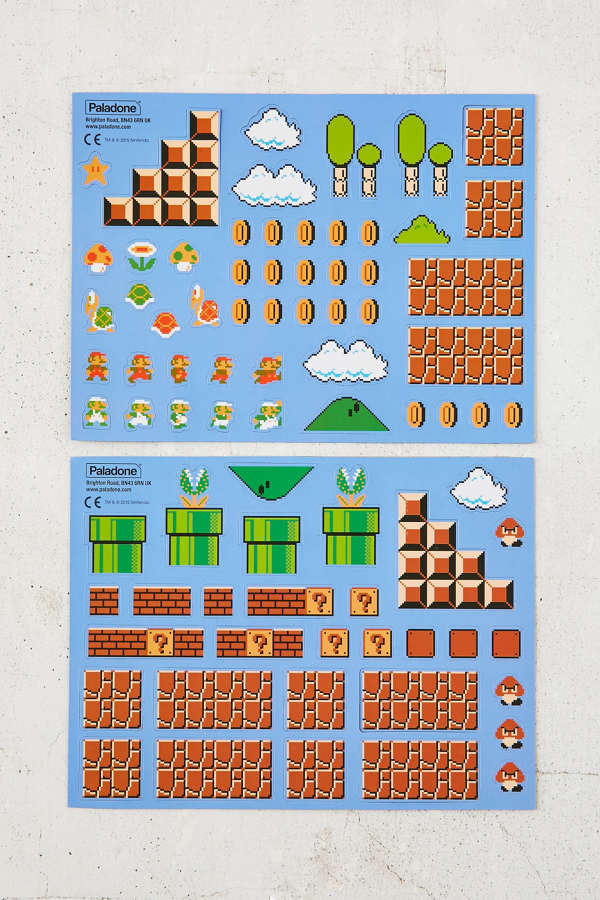 Super Mario Brother's Collector's Edition Magnets Set