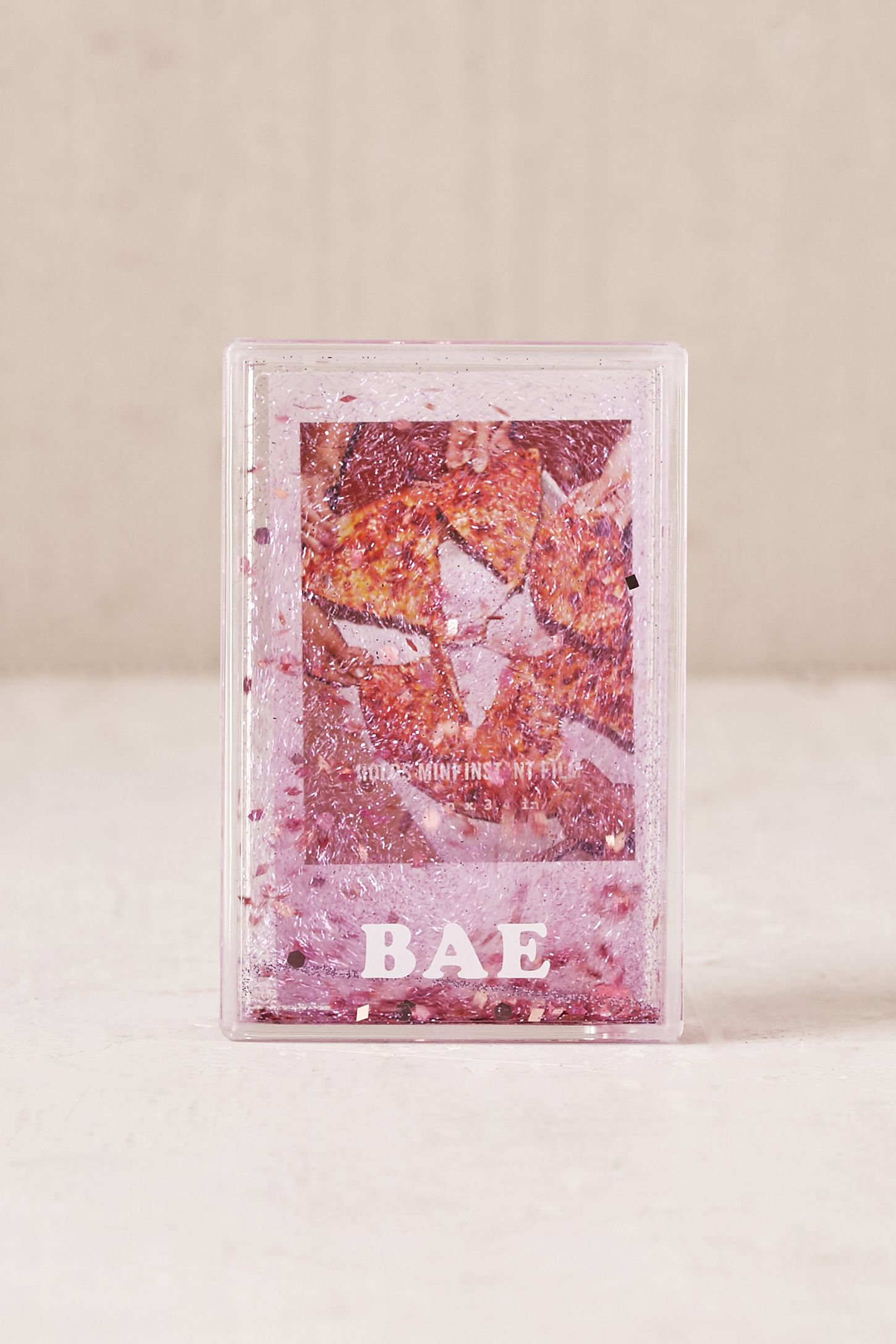 Mini Instax Bae Glitter Picture Frame Urban Outfitters