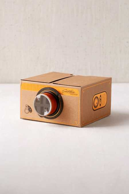 Copper Smartphone Projector