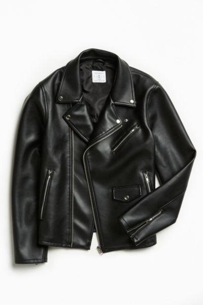 UO Faux Leather Moto Jacket