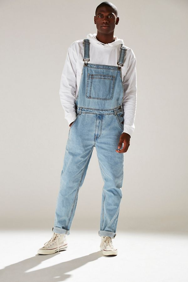 Bdg Light Stonewash Denim Overall Urban Outfitters