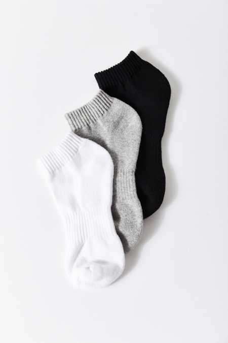 Athletic No-Show Ankle Sock 3 Pack