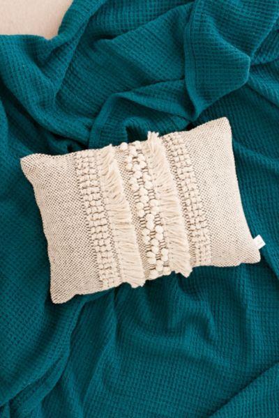 Britta Center Shag Bolster Pillow
