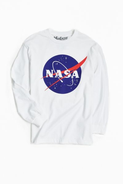 Nasa Logo Long Sleeve Tee Urban Outfitters