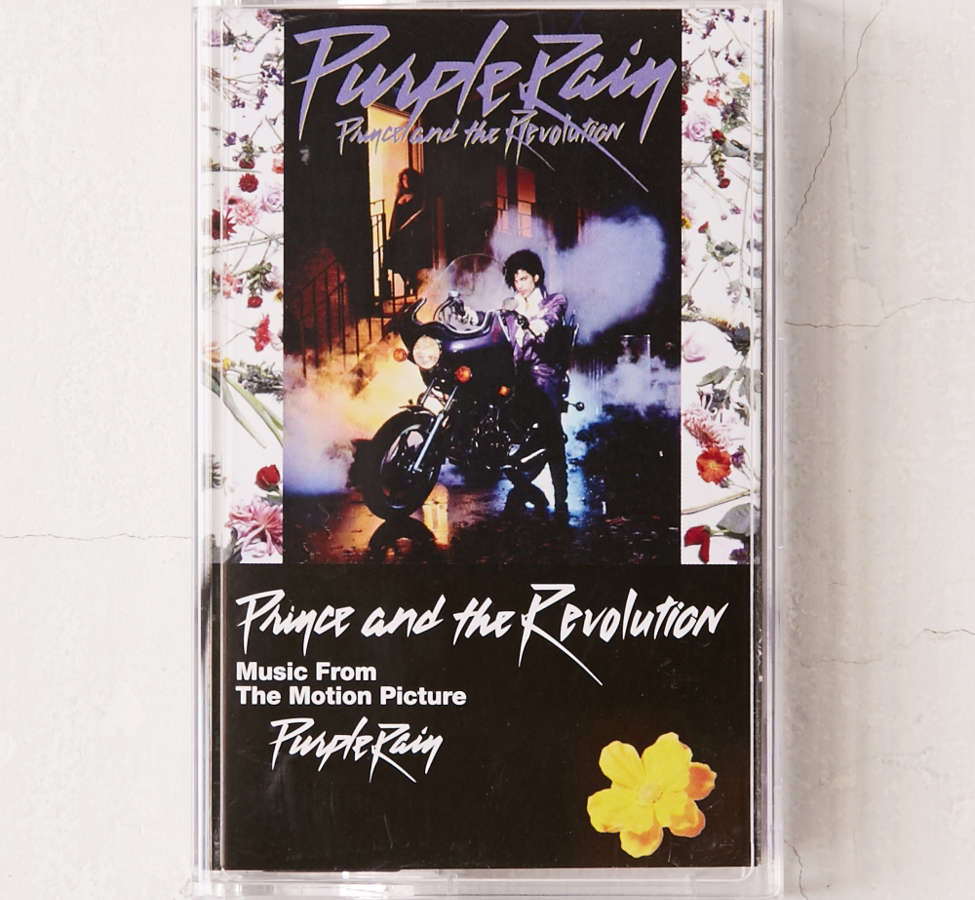 Slide View: 1: Prince - Purple Rain Cassette Tape