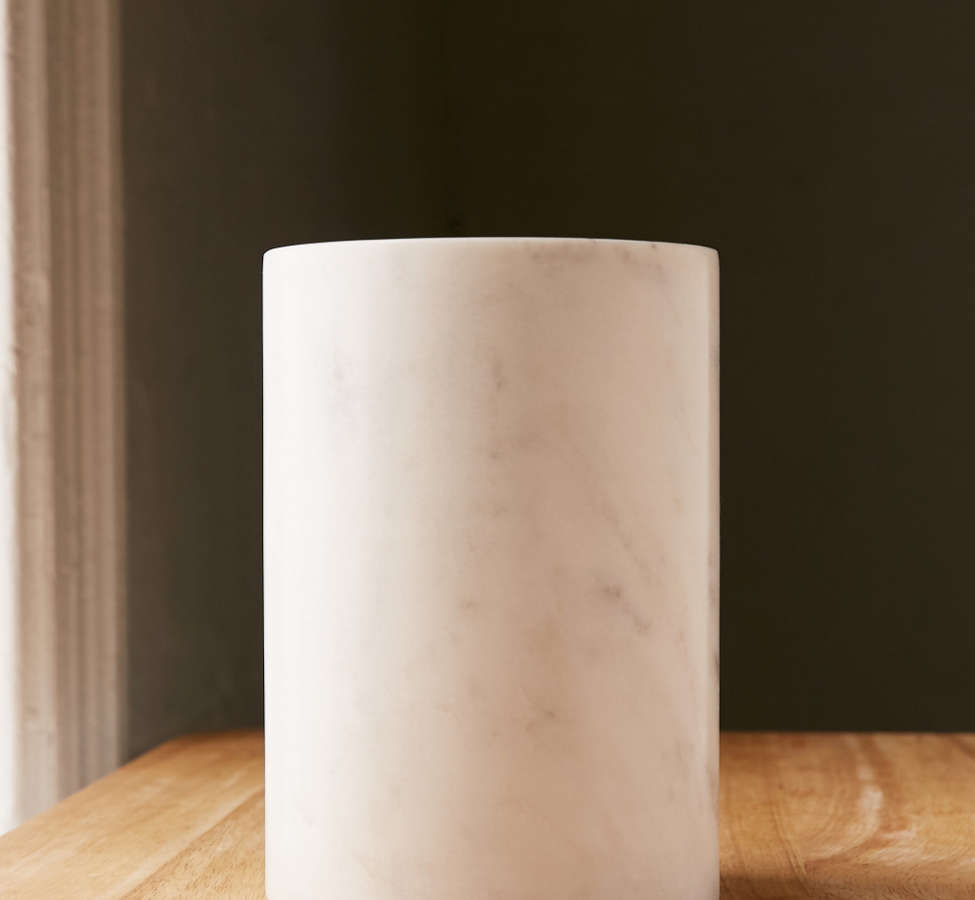 Slide View: 1: Marble Utensil Holder