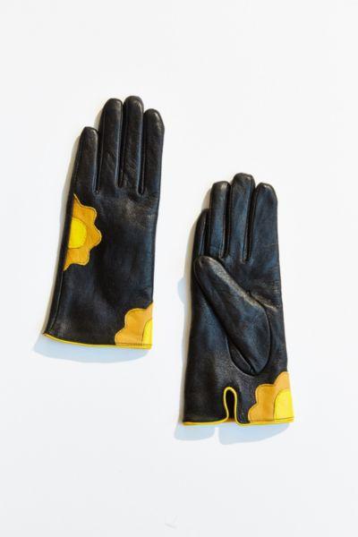 Flower Power Leather Glove