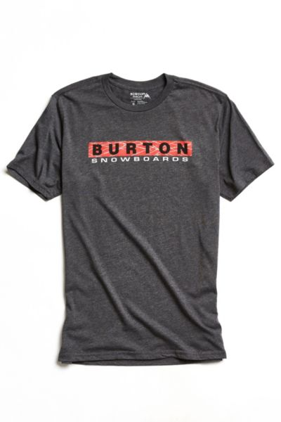 Burton Throwback Tee - Black S at Urban Outfitters
