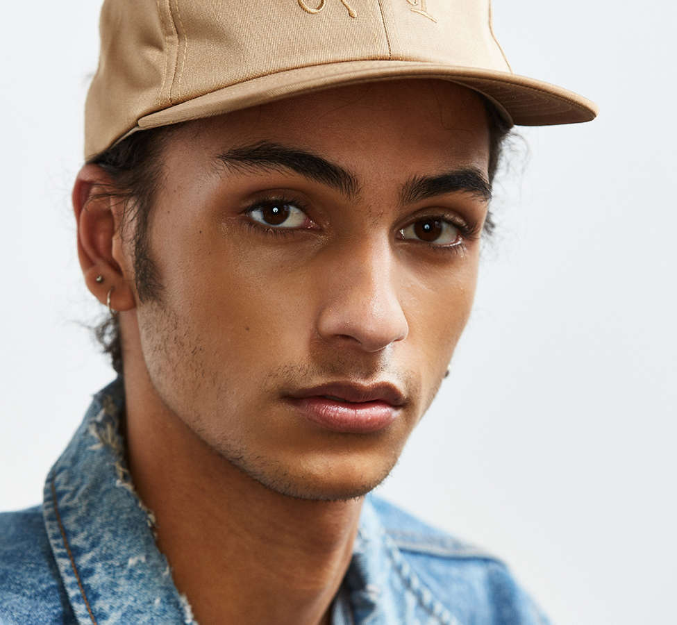 Slide View: 2: Stussy X UO Sateen Dad Hat