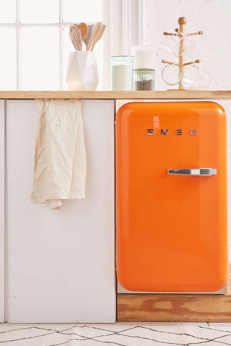 Slide View: 1: SMEG Mini Refrigerator