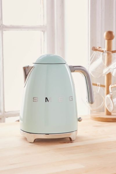 SMEG Electric Kettle - Mint One Size at Urban Outfitters