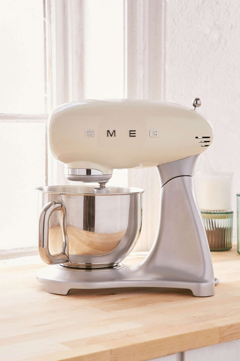 Slide View: 1: SMEG Standing Mixer