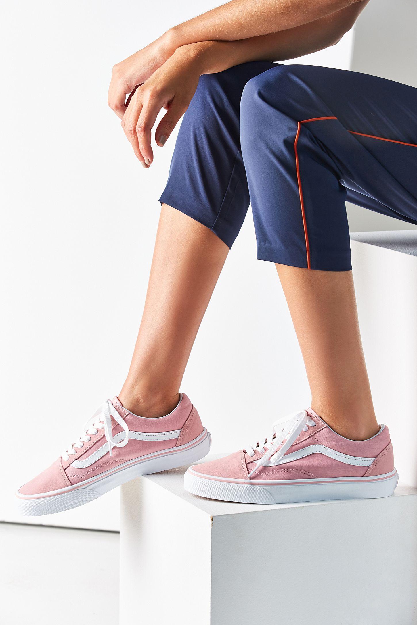 Vans Pink Old Skool Sneaker  37315f9295d
