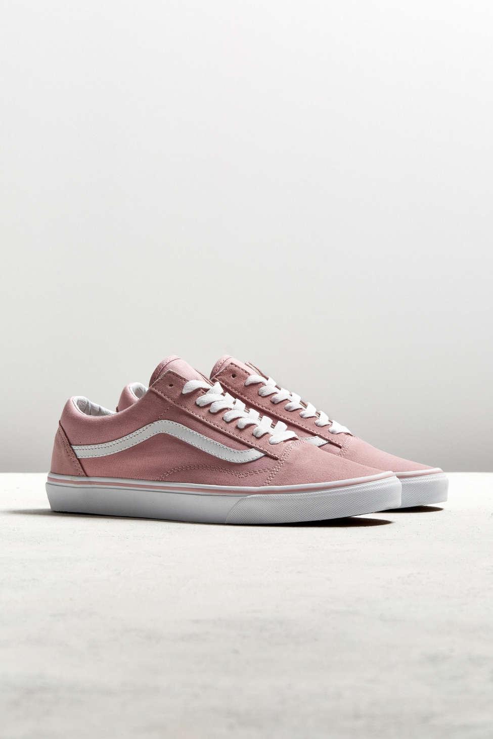 Vans Old Skool Pink Suede Sneaker Urban Outfitters