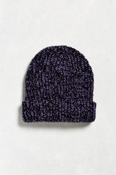 UO Lumberjack Beanie - Purple Multi One Size at Urban Outfitters