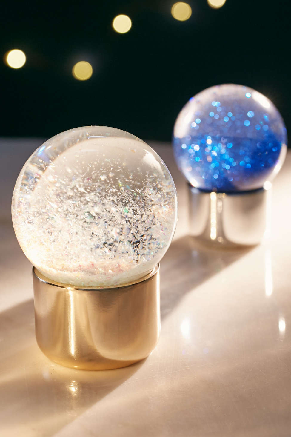 Iridescent Snow Globe Urban Outfitters