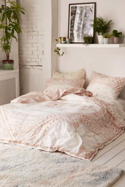 Celestial Foiled Duvet Cover Urban Outfitters