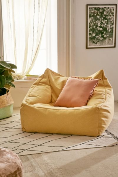Cooper Lounge Chair - Yellow One Size at Urban Outfitters