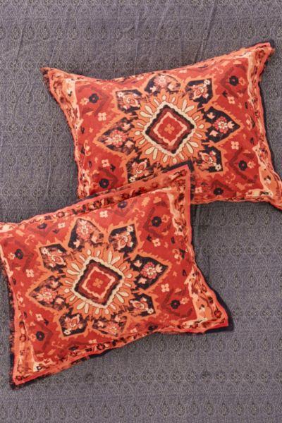 Berna Worn Carpet Sham Set