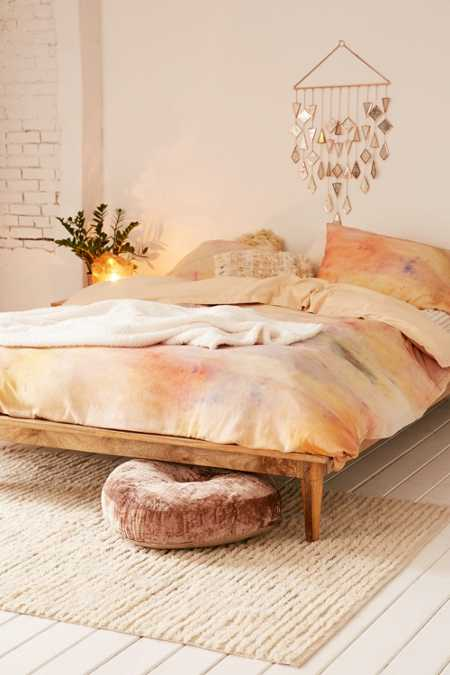 Josse Flannel Dyed Duvet Cover
