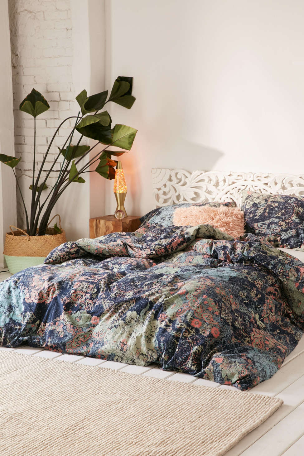 Slide View: 1: Sato Worn Duvet Cover
