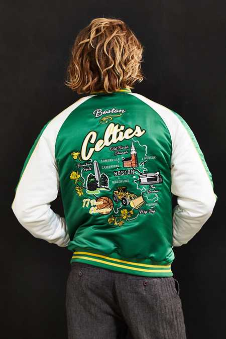 Starter X UO NBA Boston Celtics Souvenir Jacket
