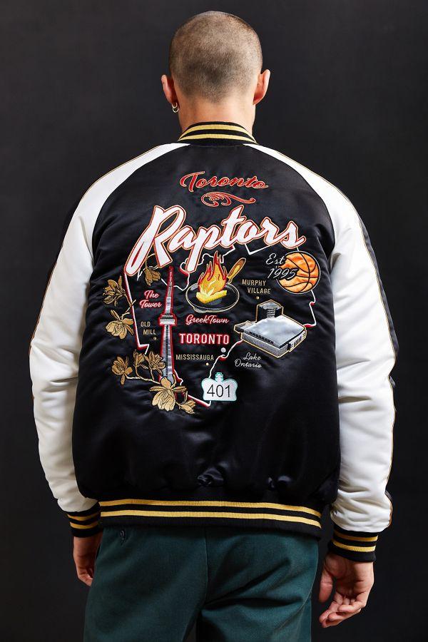 Starter Black Label + UO NBA Toronto Raptors Souvenir Jacket  9eee14c2c