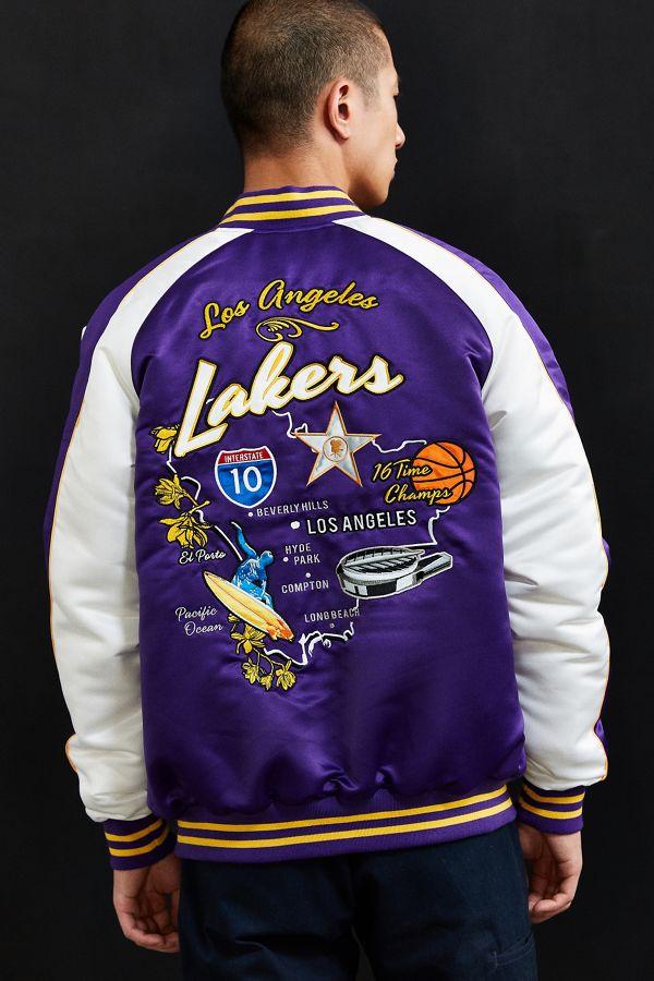 Par Des Los Lakers Starter Angeles Veste De Souvenir Nba La xn58O