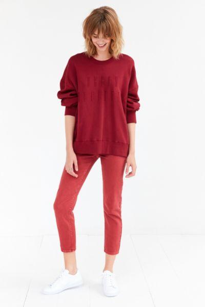 BDG Monochrome Urban Outfitters Logo Sweatshirt