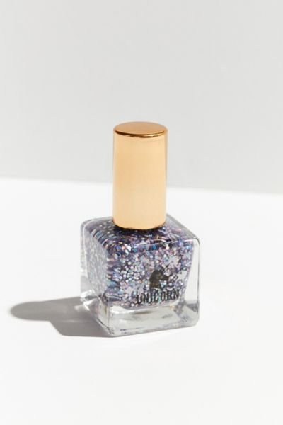 UO Emoji Nail Polish - Charcoal One Size at Urban Outfitters