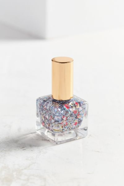 UO Emoji Nail Polish - Silver One Size at Urban Outfitters