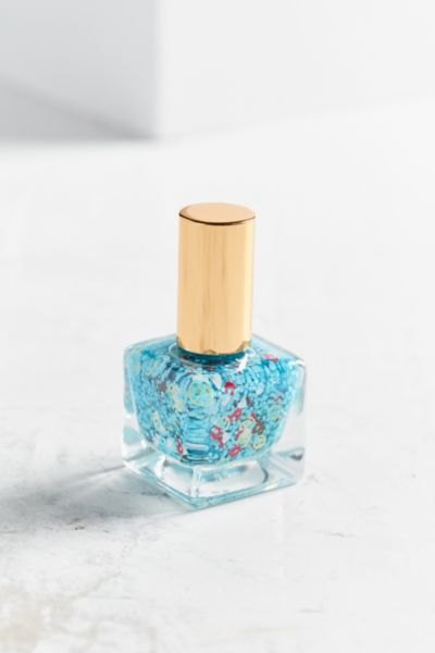 UO Emoji Nail Polish - Blue One Size at Urban Outfitters