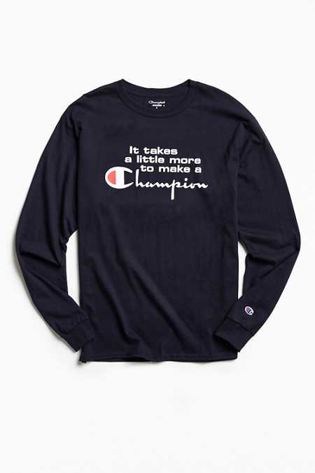 Champion A Little More Long Sleeve Tee
