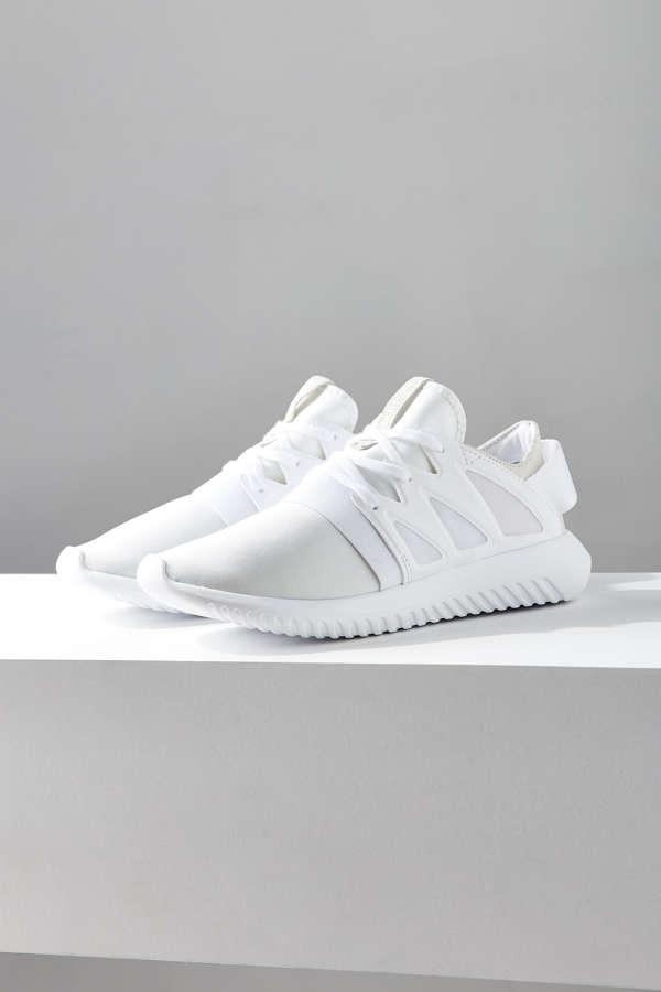 adidas tubular viral white