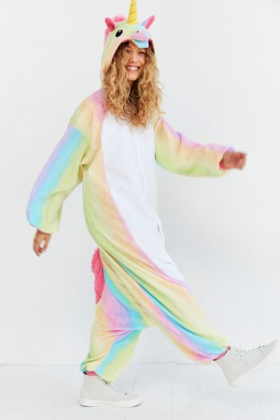Kigurumi Rainbow Unicorn Costume