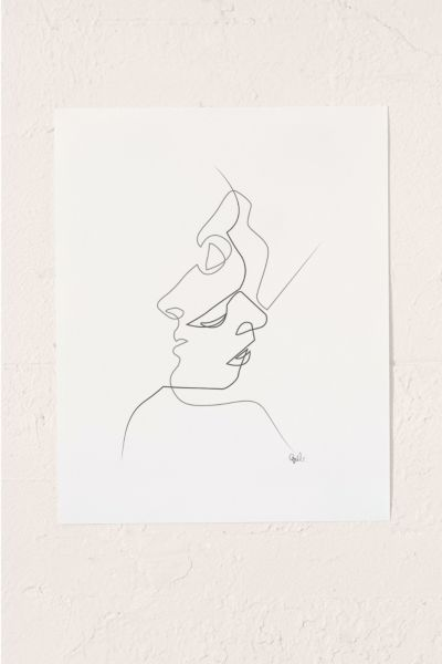 Quibe Close Art Print Urban Outfitters