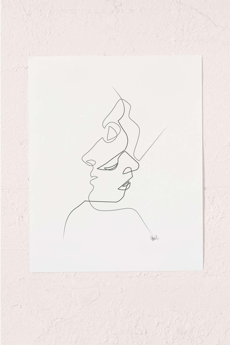 Slide View: 1: Quibe Close Art Print