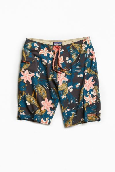 Patagonia Stretch Planing Boardshort - Black Multi 28 W at Urban Outfitters