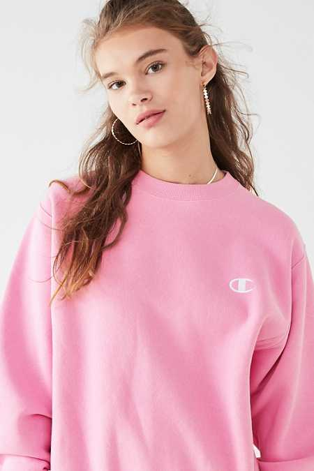 Slide View: 1: Champion & UO Reverse Weave Pullover Sweatshirt