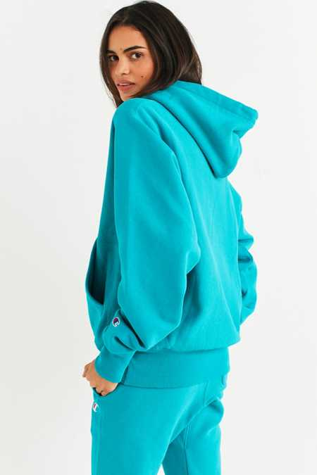 Slide View: 3: Champion & UO Reverse Weave Hoodie Sweatshirt
