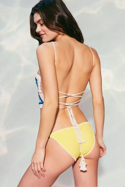ale By Alessandra Crochet Cali Bikini Bottom