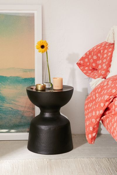 Elle Side Table - Black One Size at Urban Outfitters