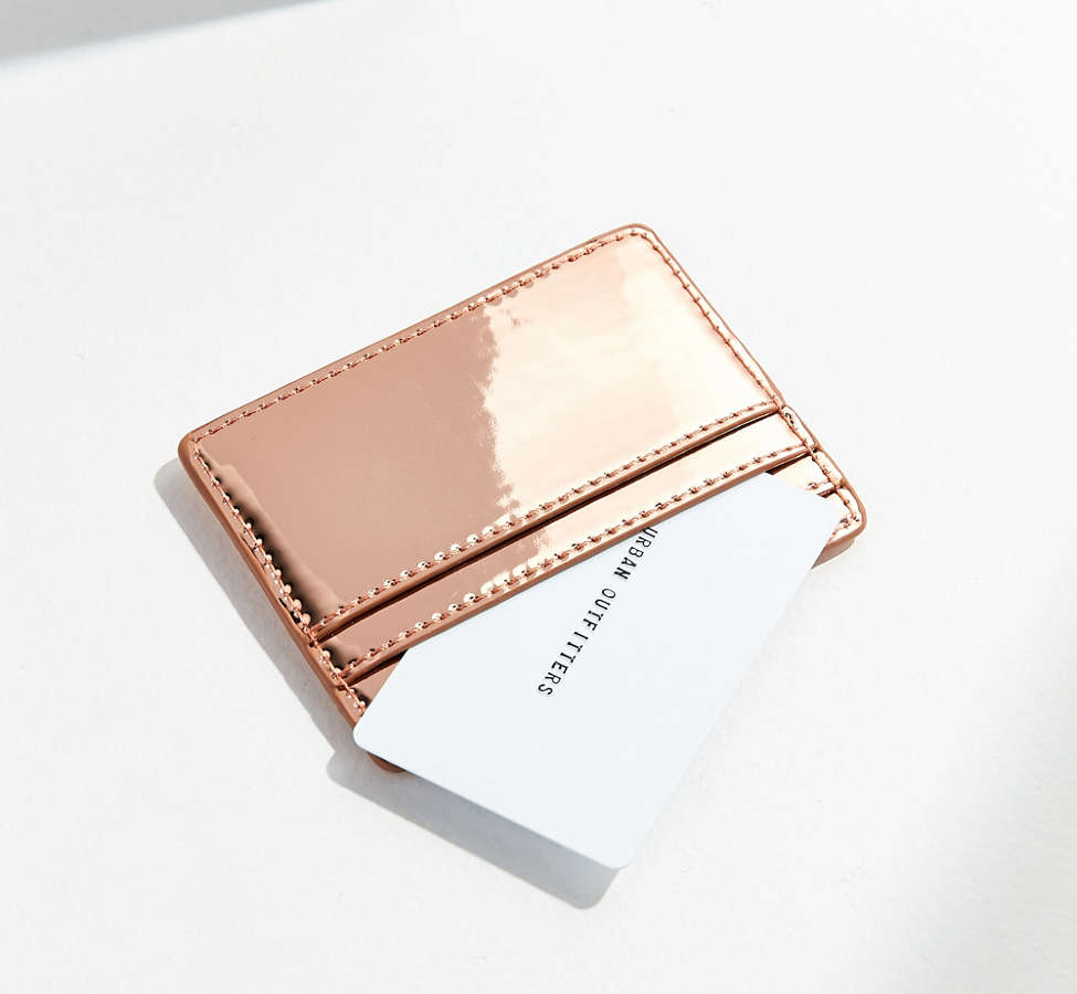 Slide View: 2: Metallic Card Case