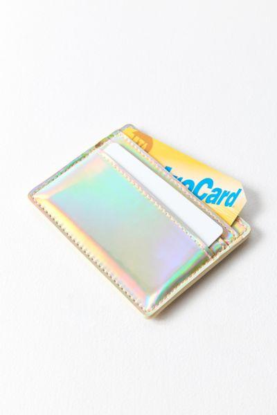 Metallic Card Case