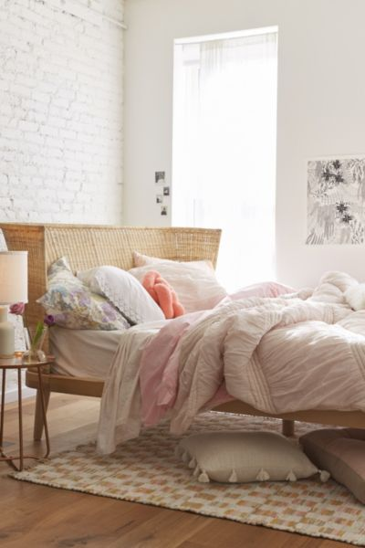 Jens Woven Windsor Platform Bed Urban Outfitters