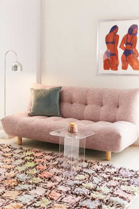 Winslow Armless Sleeper Sofa