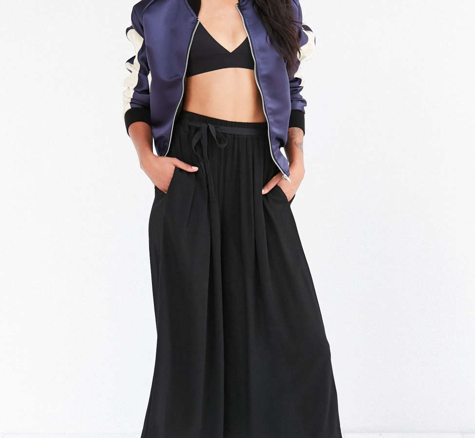 Slide View: 1: Staring At Stars Crinkle Culotte Pant