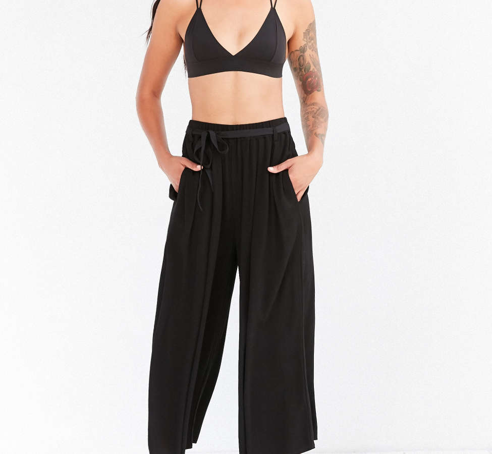 Slide View: 3: Staring At Stars Crinkle Culotte Pant